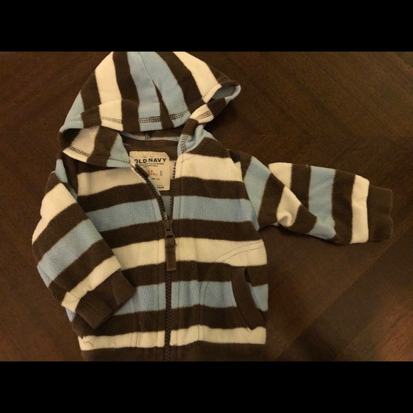 Old Navy Other - 🍼 Old Navy baby boy hooded fleece!